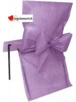 10 housses de chaise - parme - pour anniversaire, mariage...