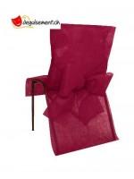10 housses de chaises bordeaux pour mariage, anniversaire,...