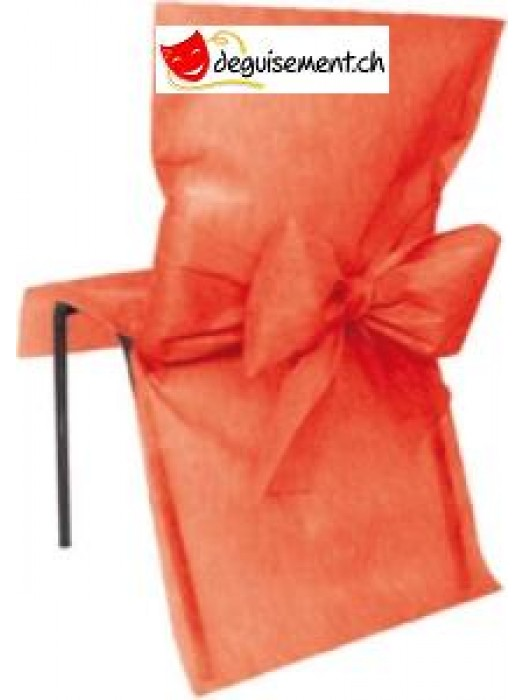 10 housses de chaises rouge pour mariage, anniversaire,...