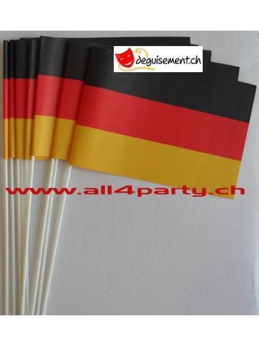 10 drapeaux Allemagne 14x21cm
