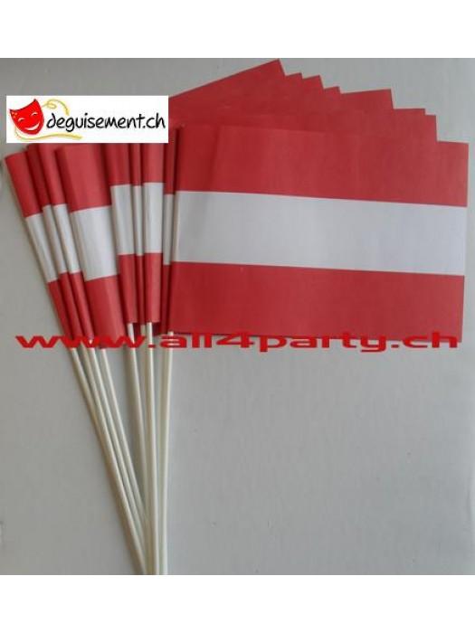 10 drapeaux Autriche14x21cm