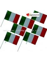 10 drapeaux Italie 14x21cm