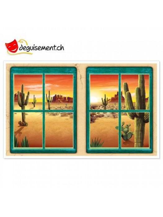 2 Western Desert Window Props