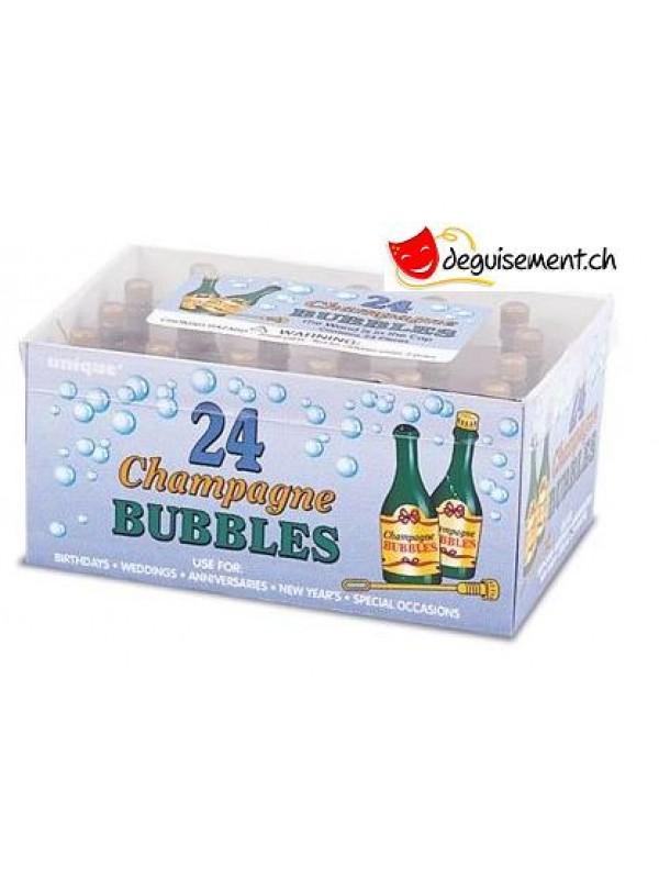 24 bulles de savon champagne - mariage