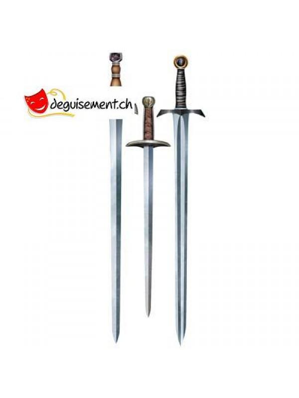 3 découpes épées medieval