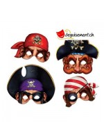 4 masques pirates