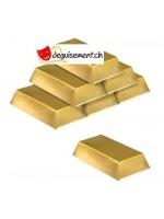 6 Décoration de barre en or