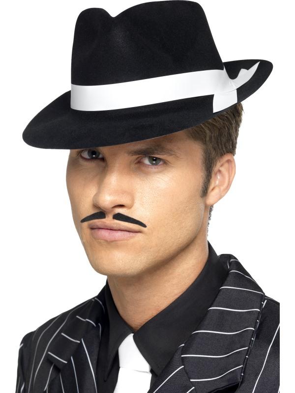 Chapeau Gangster al capone noir