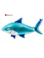 Aluminium shark balloon