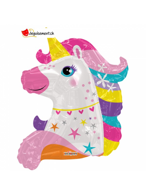 Unicorn head balloon