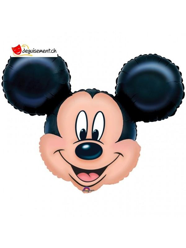 Ballon alu tête Mickey XL