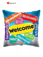 Welcome Multinational Aluminum Balloon