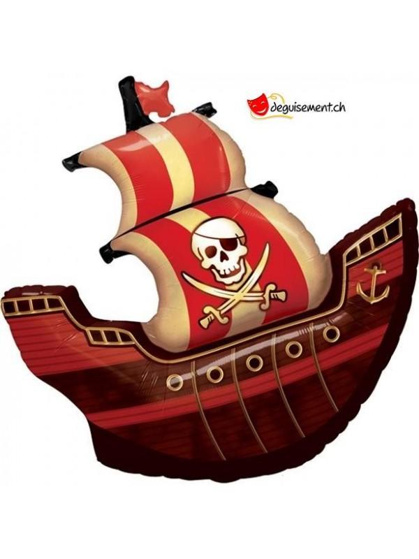 Ballon bateau pirate - 102cm
