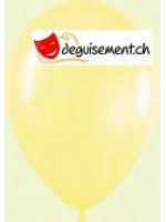 Ballons jaune Nacré métallique 31cm