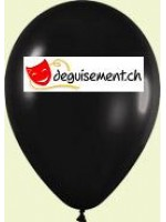 Ballons noir métallique 28cm