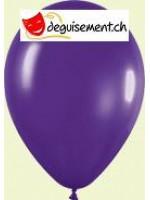Ballons violet métallique 31cm