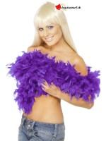 Boa violet deluxe 180cm - 80g