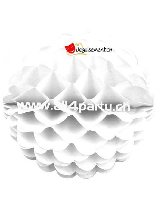 Boule Festonnée Blanc