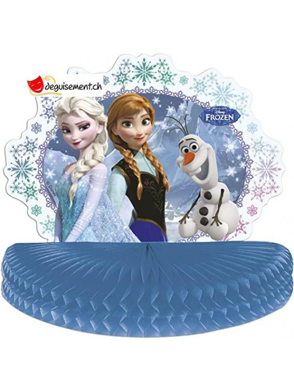 Centre de table Reine des Neiges - 30x27 cm - 1pce