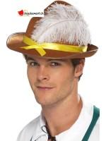 Chapeau bavarois brun