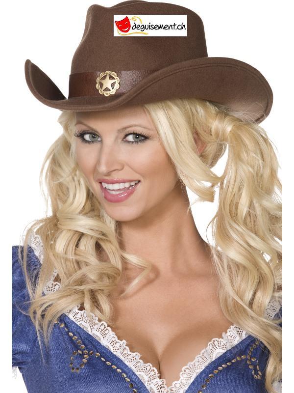 Chapeau cowboy wild west