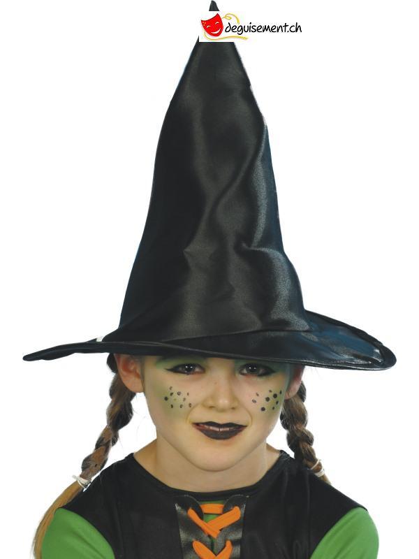 Chapeau sorcière noir enfant