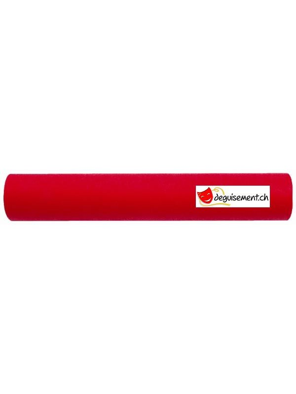 Chemin de table rouge tissu non tissé