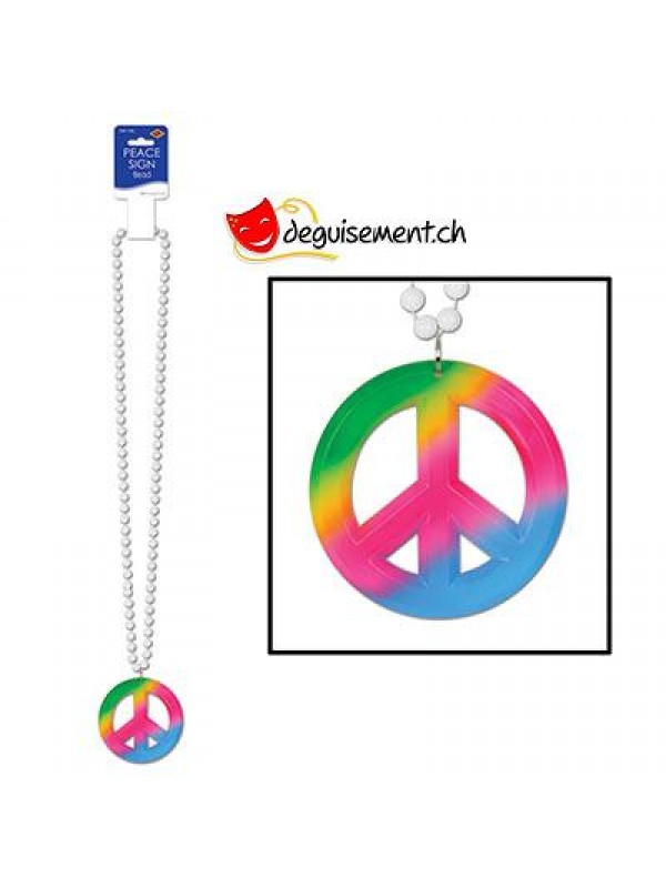 Collier hippie multicouleur