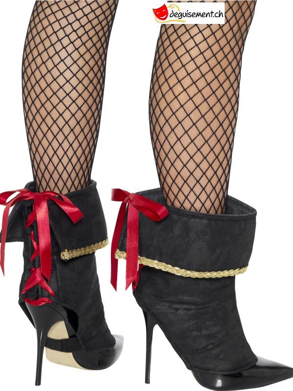 Couvres bottes pirate femme
