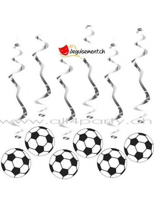 Décoration ballons de football