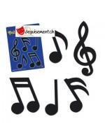 Decoration notes de musique