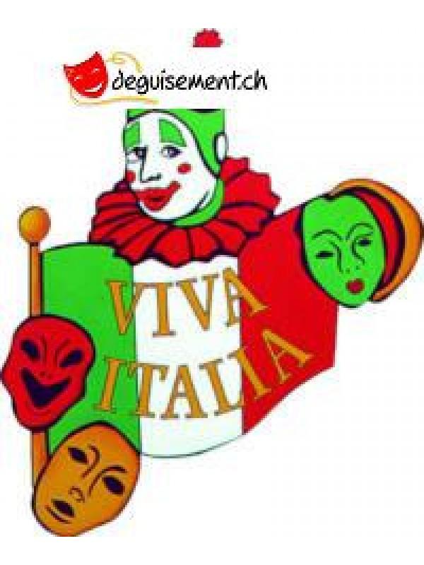 Découpe - cut-out carnaval  Italie 45cm