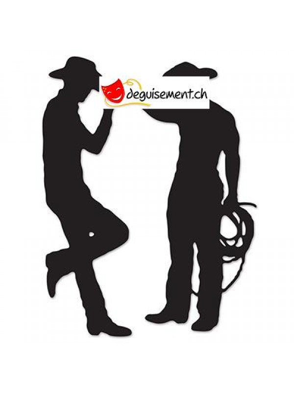 Découpe Silhouettes western