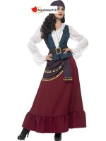 Deluxe Pirate Buccaneer Beauty Costume