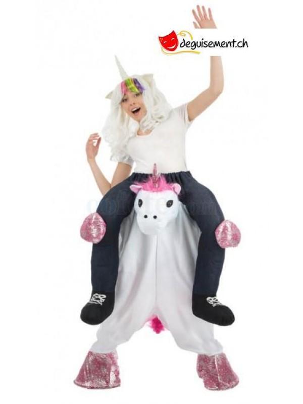 Deguisement Carry Me licorne adulte