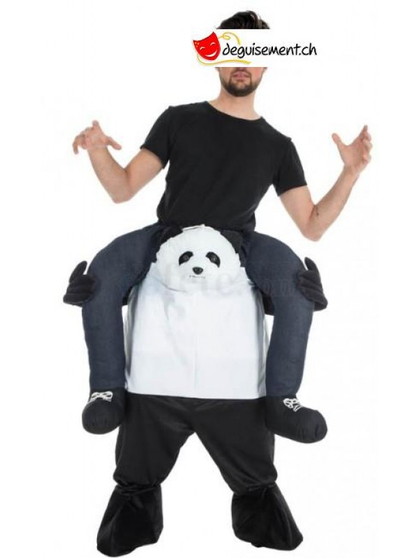 Deguisement Carry Me Panda adulte