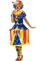 Deluxe Light Up Carousel Clown Costume