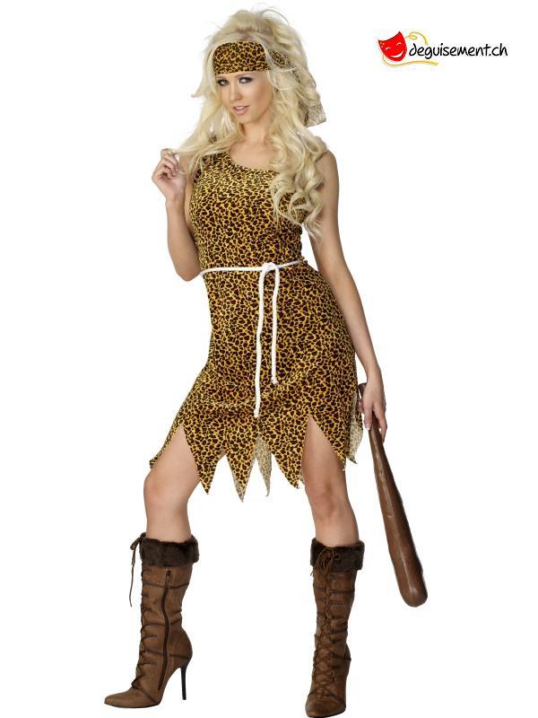 Cavewoman Costume, Brown