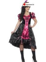 Curves Sassy Saloon Costume