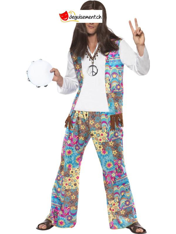 Groovy hippie disguise