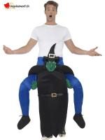 Déguisement homme sur épaule sorcière - Taille unique