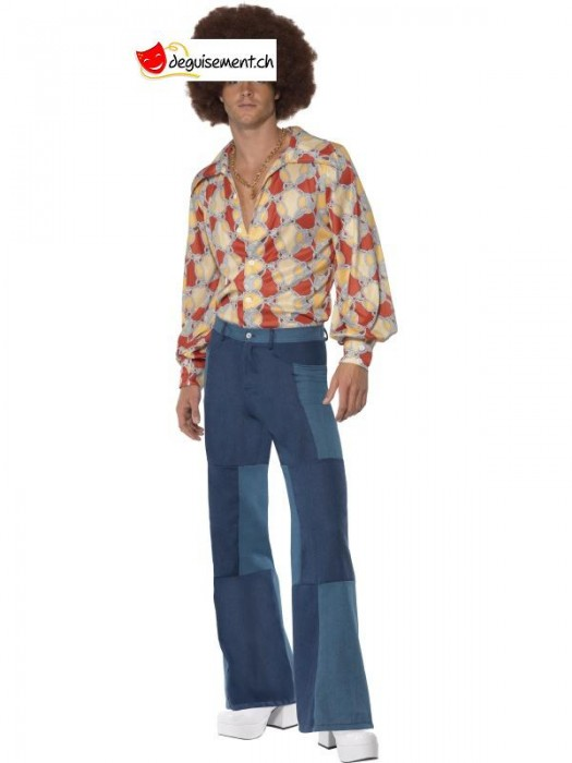 70s Deluxe Flared Trousers