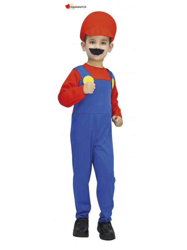 Plumber costume for children