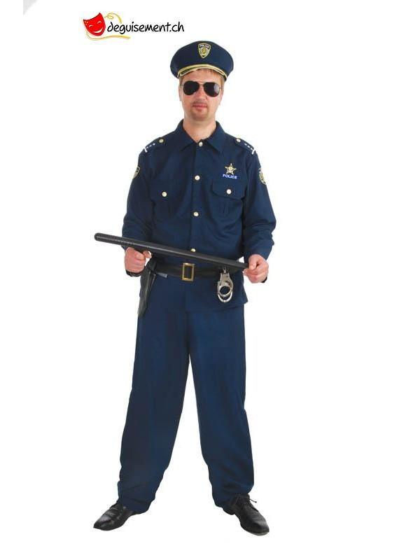 Adute policeman costume