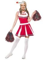 Red Cheerleader Costume