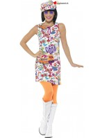 Groovy dress disguise for women