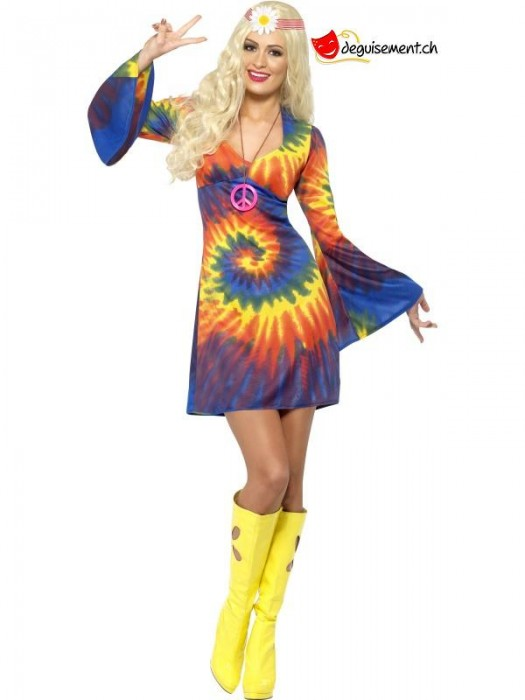 1960s Tie Dye Costume