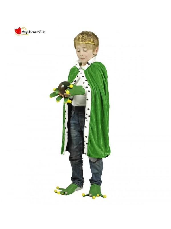 Déguisement roi grenouille - enfant