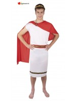 White and red Roman disguise
