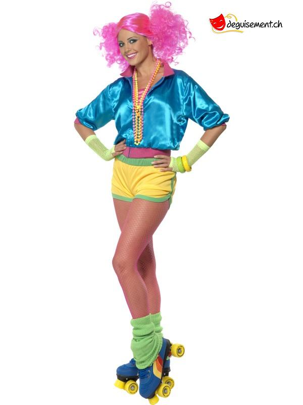 Fluorescent skater disguise